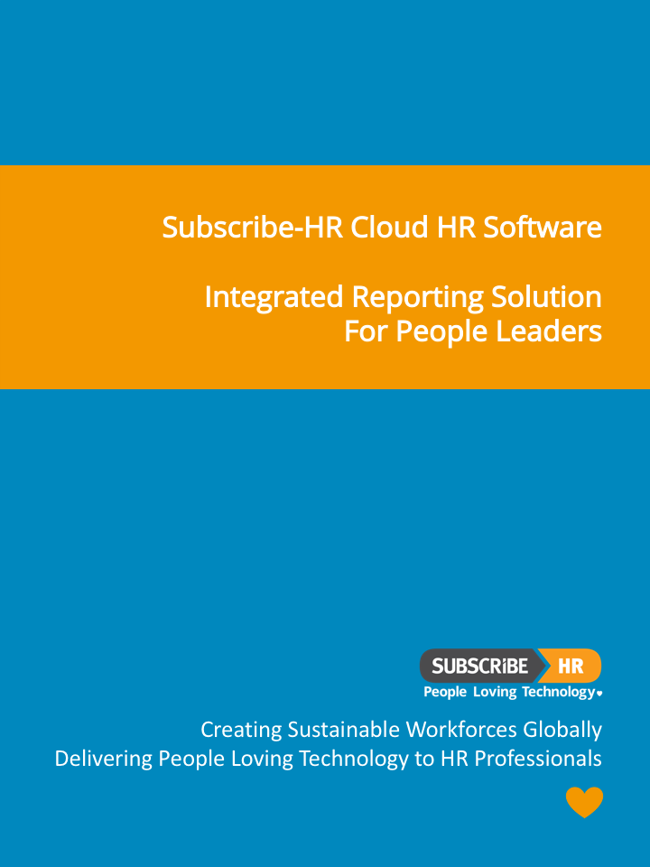 Subscribe-HR Cloud HR Software Reporting Solution